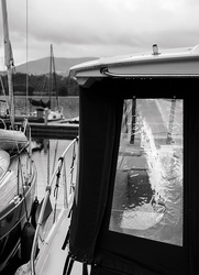 Boat Window, Lake Windermere, England  2017