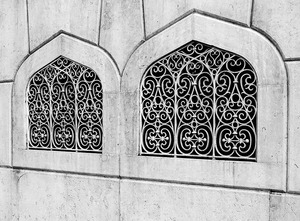 Moorish Windows, Lisbon, Portugal  2014