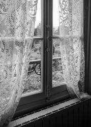 Lace Curtains, Giverny, France  2013